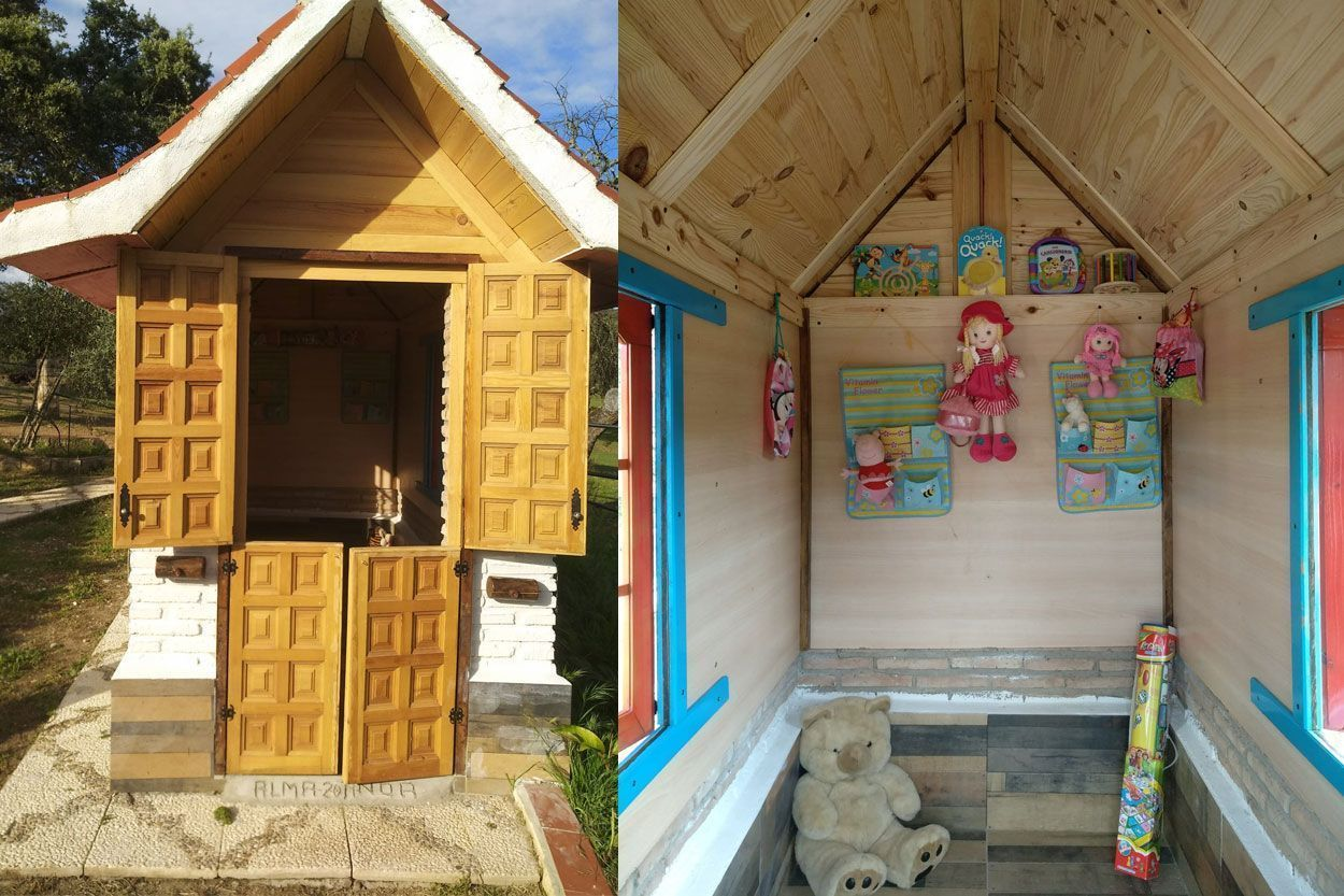 Playhouse for the little ones in The Lake rural house