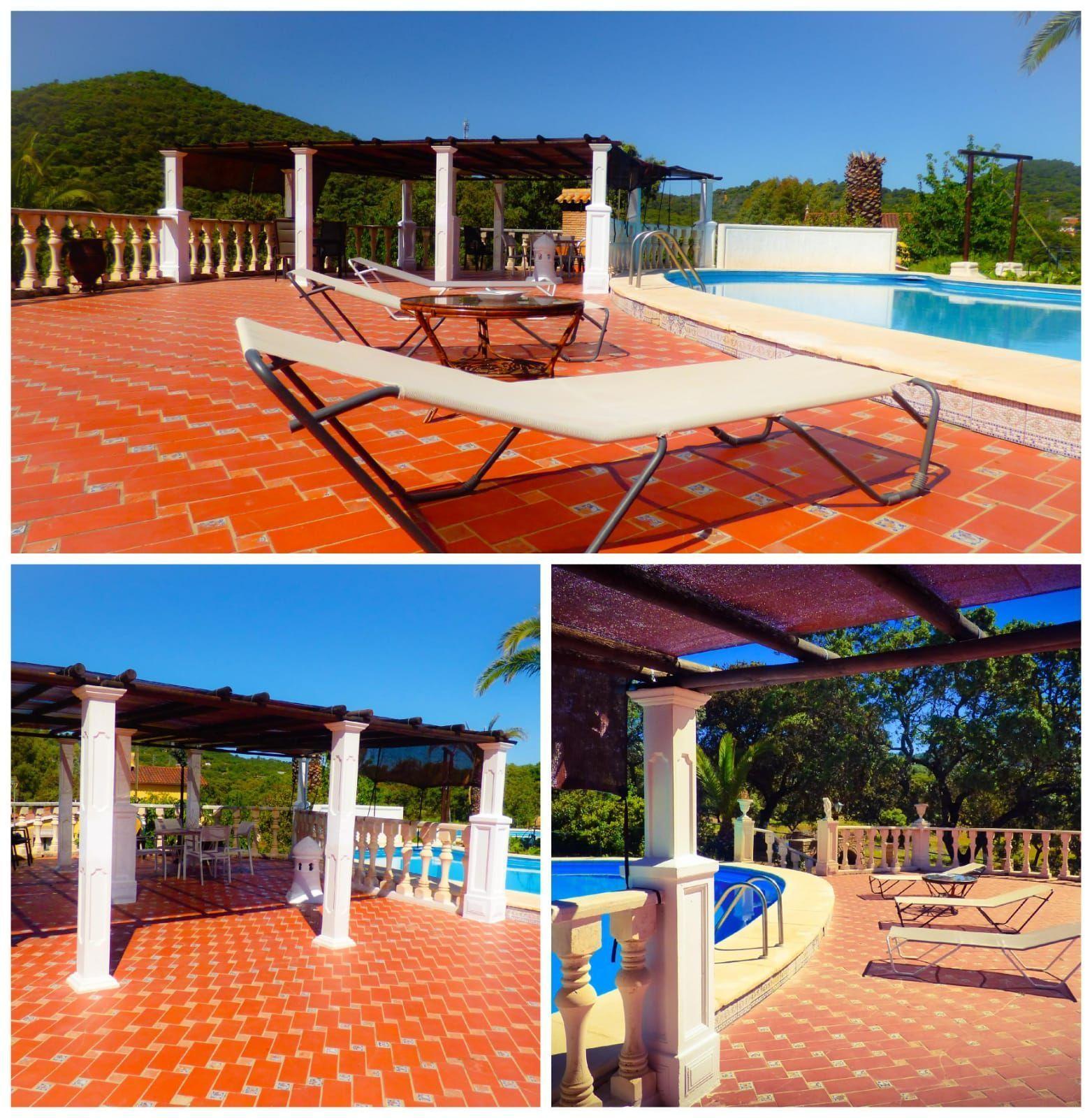 Private Solarium terrace, Lake house